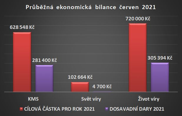 Ekonomická bilance červen 2021