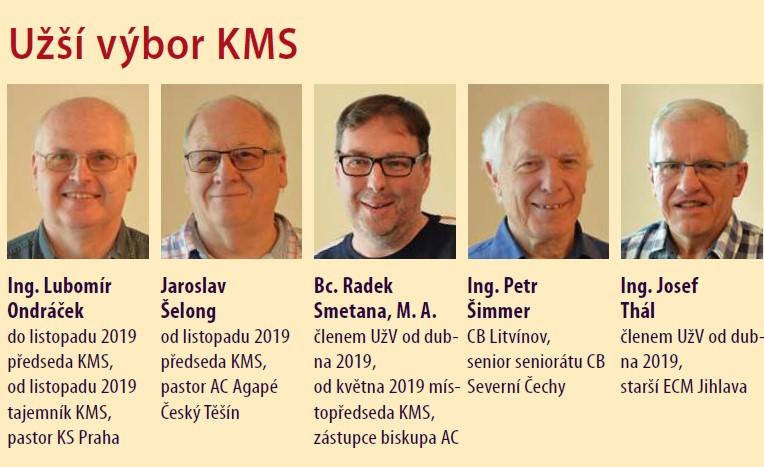 Užší výbor KMS